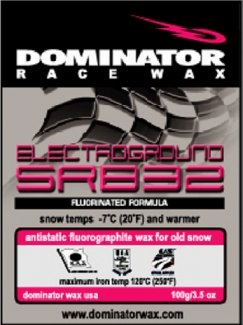 DOMINATOR FLUOROGRAPHITE POLYMER HOT WAXES: ANTISTATIC FOR OLD SNOW, COLD by Dominator