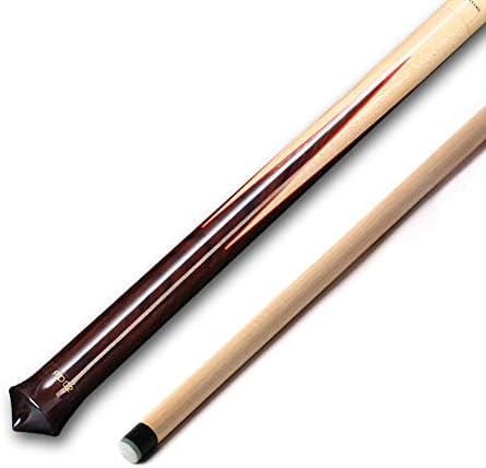 DENGS Madera maciza Taco de Billar, 105 cm, 255 g, billar, ocho negro, adecuado para el club de la escuela en casa/Como se muestra / 105cm: Amazon.es: Bricolaje y herramientas