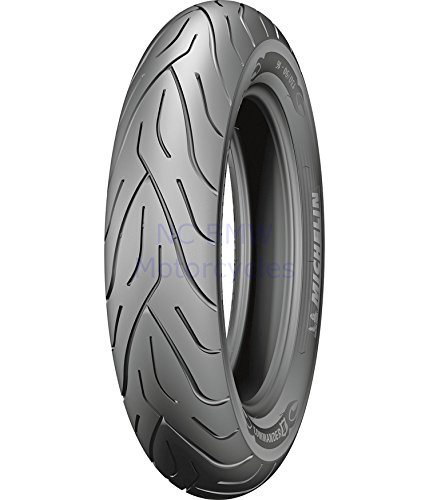 Michelin High Mileage Long Lasting Motorcycle Commander II Tire 130/80 B17 Front (Best Long Lasting Tires)