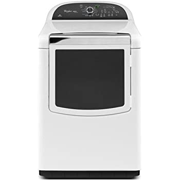 Whirlpool WGD8500BW Cabrio 7.6 Cu. Ft. White With Steam Cycle Gas Dryer