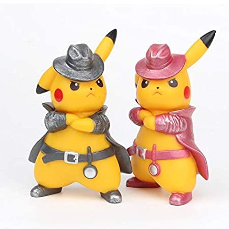 Amazon.com: VIETFR Movie Detective Pikachu PVC Figure Go ...
