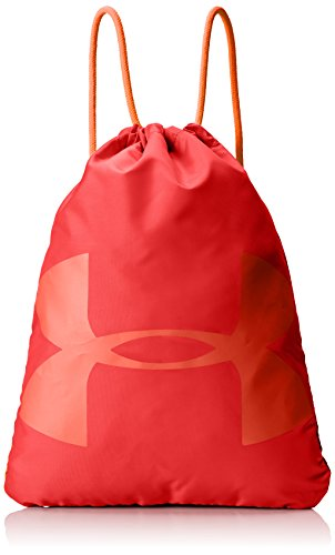 Under Armour Ozsee Unisex Sackpack, Pierce / Neon Coral / Neon Coral (629),...