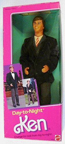1984 Day-to-Night Barbie & Ken Ken Doll