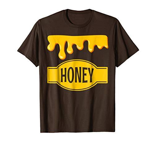 Honeypot Jar of Honey Costume T Shirt for Halloween -