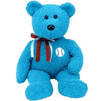 Beanie Buddies Ty Addison - Baseball Bear ()