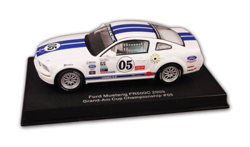 Maxwells Wheel (FORD RACING MUSTANG FR 500C 1:32 Electric Racing Slot Car - Grand AM Cup GS 2005 Maxwell/Empringham #05 with Lighting Lamp & AWD by AUTOart)