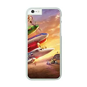 iPhone 6 Plus White Cell Phone Case Disney Planes STY790874 Phone Case For Women