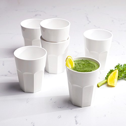 Cupture The Small Cup - Plastic Tumblers, 12 oz, 6-Pack -