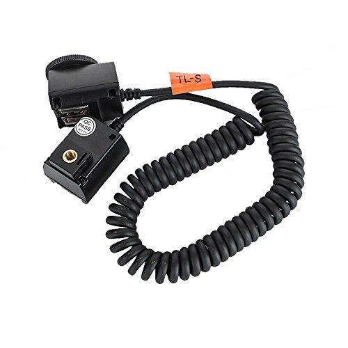 - Godox TTL Off-Camera Flash Shoe Cord Compatible Sony DSLR Cameras Speedlites - 9.8 Feet(3m)