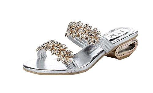 Creux Femme Sandales 2016 Diamant T Argent uKTl1cJF3