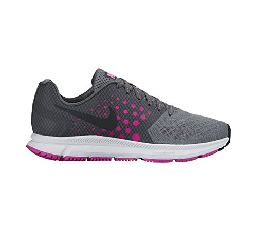 Nike Womens Wan Tana Zoom, Cool Grigio / Nero - Rosa Fuoco, 10 M Us