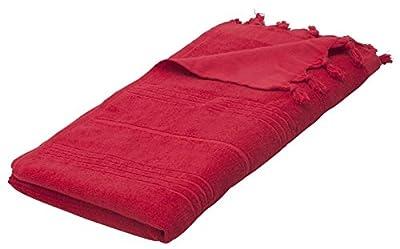 Comfort Peshtemal Large Turkish Towel Beach CoverUp Cotton Bath Spa/Red