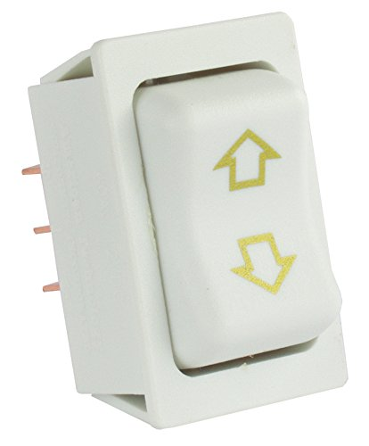 JR Products 12095 White Replacement Slide-Out High Current Motor Switch
