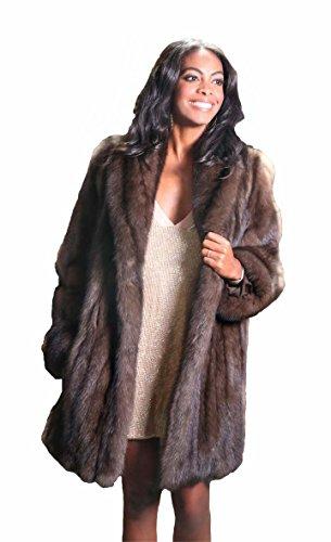 Russian Sable Fur Coat - 6
