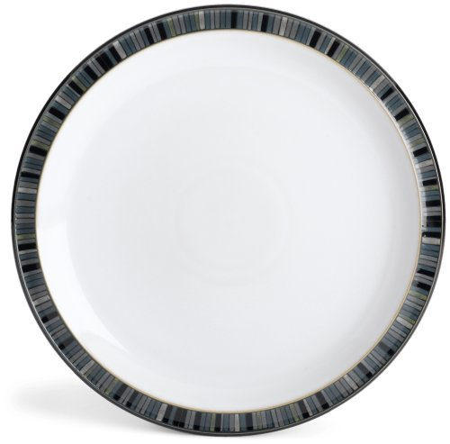 Denby Jet Stripes - Denby Jet Stripes Dinner Plate by Denby