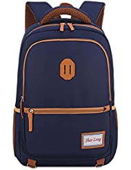 GinTai Kids Backpack School Rucksack Backpack, Canvas Daypack For Children/Boys/Girls
