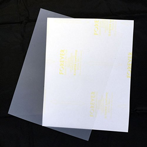 Forever Laser Dark No-Cut Low Temp Transfer Film 11 x 17 , 50 Pack by Garment Printer Ink