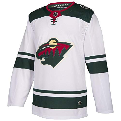 (adidas Minnesota Wild NHL Men's Climalite Authentic Team NHL Hockey Jersey (52/Large))