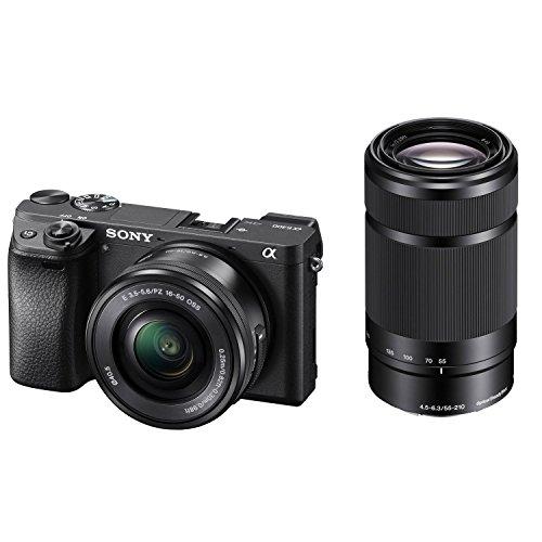 Sony Alpha a6300 Mirrorless Digital Camera w/16-50mm/3.5-5.6
