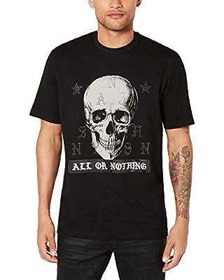 Sean John Men's All Or Nothing Skull Graphic T-Shirt