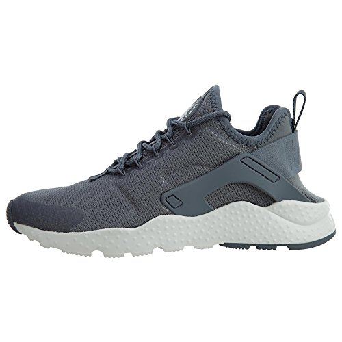 Nike Womens Air Huarache Run Ultra Grigio Mesh Trainers 8.5 Us