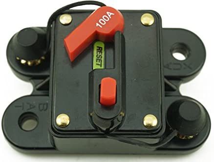 12V//24V Marine Single Pole Battery Kill Cut Off Switch Compact IP43 Key 100 amp