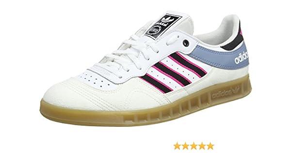 adidas Handball Top, Zapatillas de Gimnasia para Hombre, Blanco (Vinwht/cblack/Shopin), 48 2/3 EU: Amazon.es: Zapatos y complementos