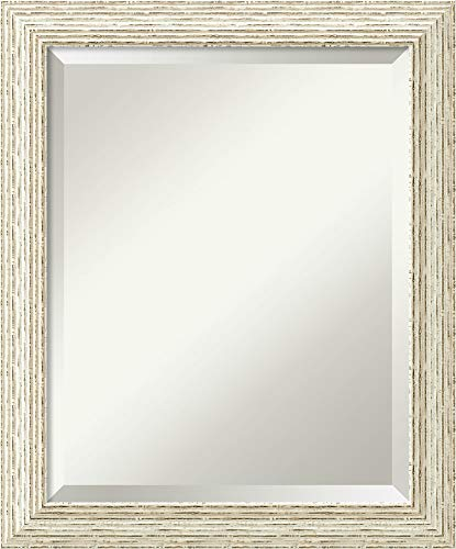 Framed Vanity Mirror | Bathroom Mirrors for Wall | Cape Cod White -