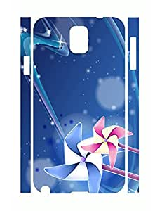 Personalized Classy Windmills Super Smooth Phone Dust Proof Case for Samsung Galaxy Note 3 N9005