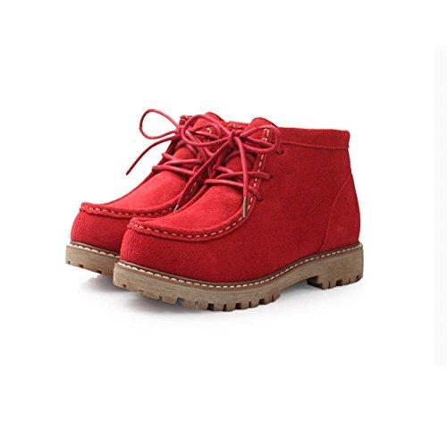 Tempo Tempo Tempo Red Caldi Il Stivali da CHENGREN CHENGREN CHENGREN Scrub Gomma 40 Donna Neve Invernali da Color per Libero Stivali Chocolate HxqpnHf4
