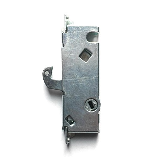 Sliding Door Mortise Lock, 45° Keyway, 3-11/16 In. Spacing, Steel Replacement Latch Lock For Patio Doors, By Essential (Replacement Latch)