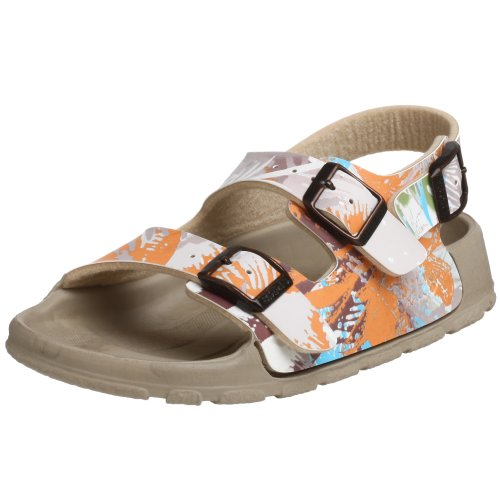 Price comparison product image Birki's Toddler/Little Kid Aruba Backstrap Sandal,Palm Taupe,25 N EU (US Toddler 7 N)