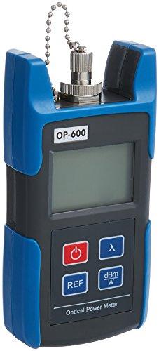 Optical Power Meter, SainSonic WattsOut OP-600, Portable Optical Power Meter, -50 - +26 dBm, SC/FC/ ST Interfaces, Fiber TL510C for CATV Test, CCTV Test and Telecommunication by SainSonic