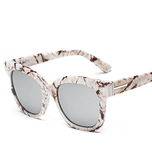 Aoligei Soleil lunettes lunettes de soleil Camouflage fleurs couleur lunettes de soleil mode film WmFoW