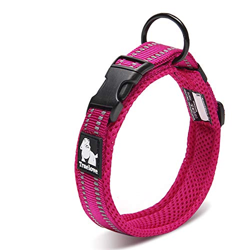 Chai's Choice Best Padded Comfort Cushion 3M Reflective Dog Collar for Small, Medium, and Large Dogs and Pets. Perfect…