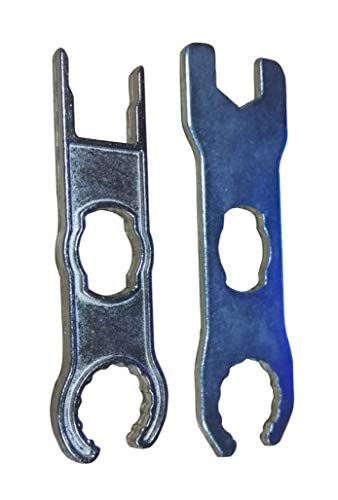 (Sunway Solar MC4 Connectors Tool Spanner Wrenches Metal for Solar Panel Cable PV System Wire and MC4 Connectors Assembly 1 Pair)