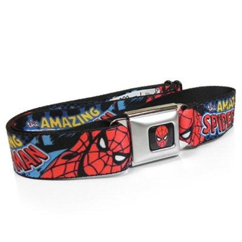 Marvel Hero Amazing Spiderman Auto Seatbelt Buckle Strap Belt