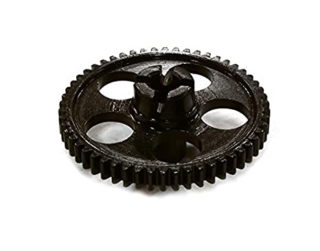 INTEGY RC Model Hop-ups C26497 Billet Machined 54T Spur Gear for Traxxas LaTrax Rally 1//18 Scale