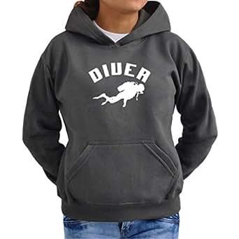 Diver Scuba Diving Women Hoodie