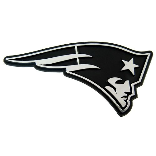 NFL New England Patriots Chrome Automobile Emblem