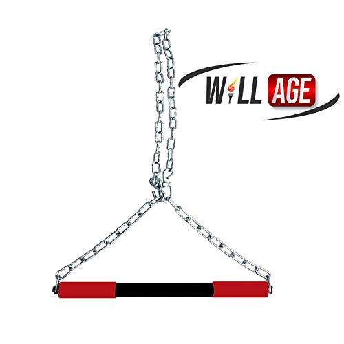 Willage Steel Pull Up/Chin up Bar, Sangal Rod with Chain Hanging Rod Pull Up Bar Price & Reviews
