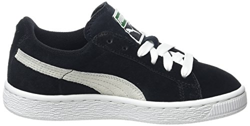 Garçon white Baskets black Basses Puma Noir 360757 qtxOwzY