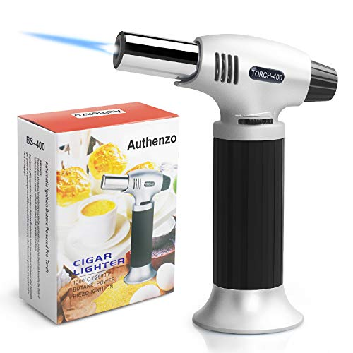 Authenzo Kitchen Butane Torch