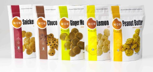 Wow Baking Company Bagged Cookies,5 Variety Pack, - Lime Cookies White Chocolate Key