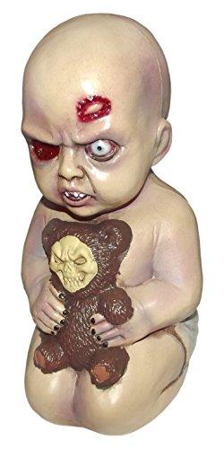 Forum Novelties Evil Baby with Teddy Bear Halloween Prop Decoration