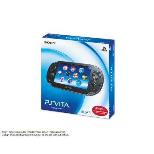 PlayStation Vita(PCH-1100 AB01)docomo