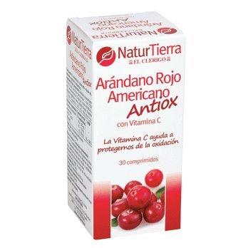NATUR TIERRA arándano rojo americano antioxidante envase 30 cápsulas: Amazon.es: Alimentación y bebidas