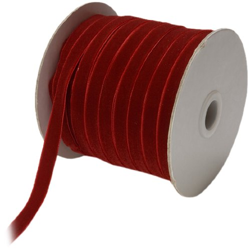 May Arts 3/8-Inch Wide Ribbon, Burgundy Velvet by May Arts