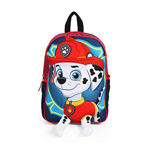 Paw Patrol Marshall Toddler 12 Inch Backpack with 3D Plush Legs