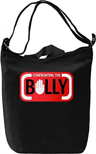 The Bully Borsa Giornaliera Canvas Canvas Day Bag| 100% Premium Cotton Canvas| DTG Printing|